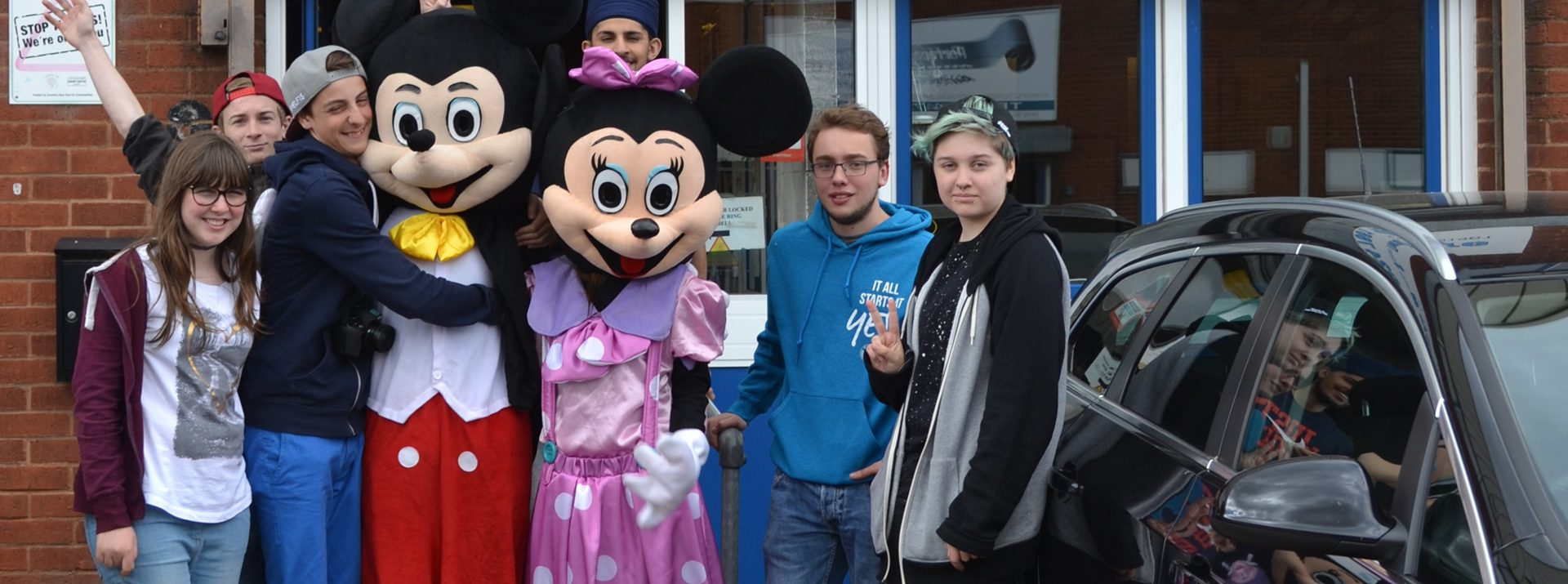 Fundraising with Mickey & Minnie